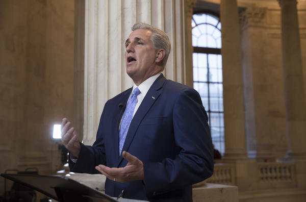 Majority Leader Kevin McCarthy None