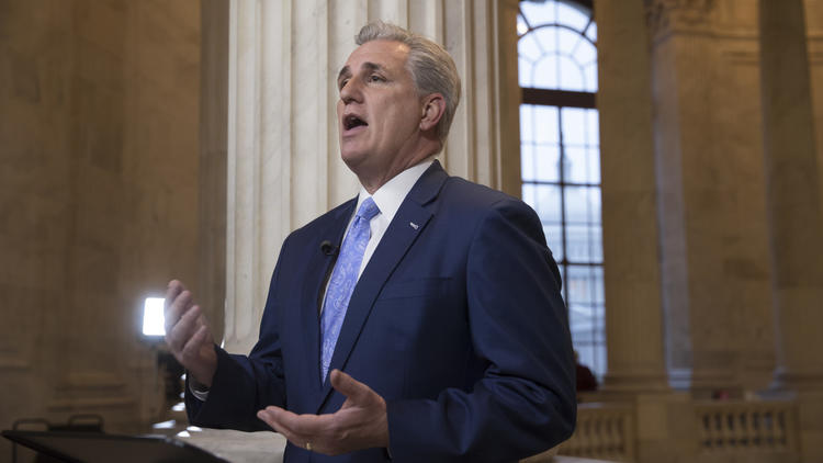 House Majority Leader Kevin McCarthy (R-Bakersfield). (J. Scott Applewhite / Associated Press)