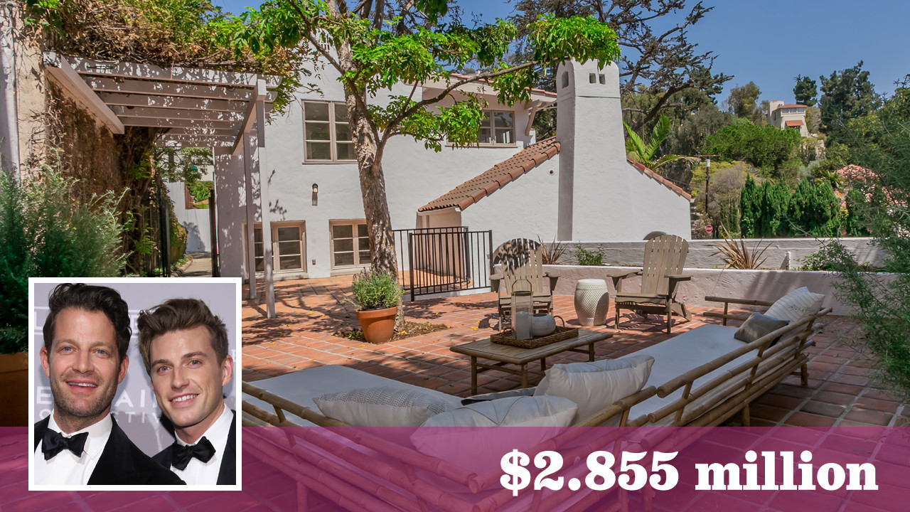 Nate Berkus And Jeremiah Brent Part With Their Latest Project In Hollywood  Hills West   LA Times