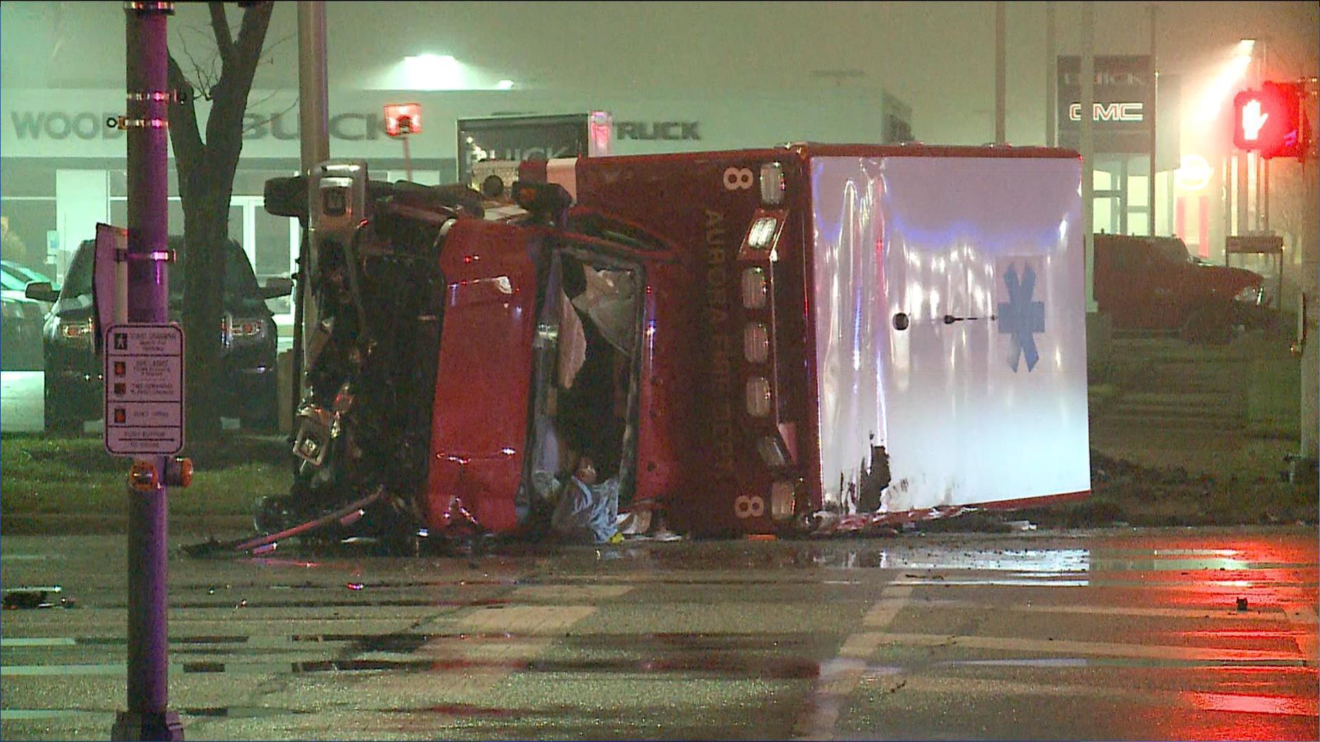 Video shows ambulance ran red light in naperville crash that hurt 3 naperville sun