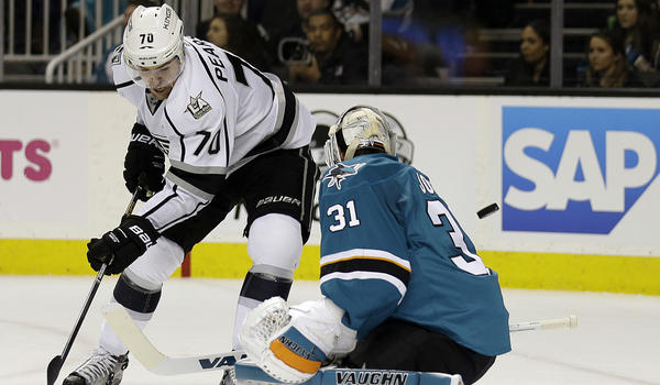 Carter, Budaj Show Way In 2-1 Overtime Win Against Sharks