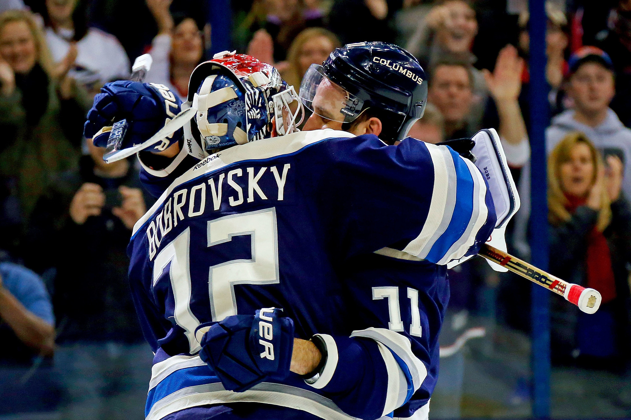Blue Jackets extend win-streak to 16 games, within 1 of NHL record ...