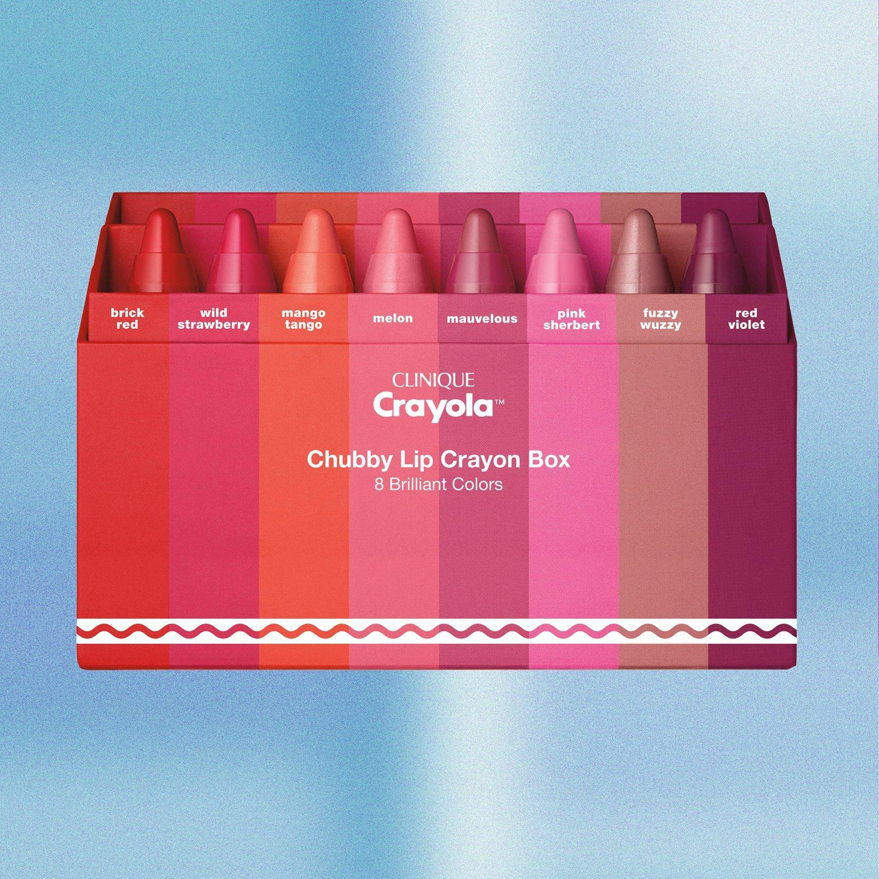 Crayola partners with Clinique to create colorful crayons for your lips