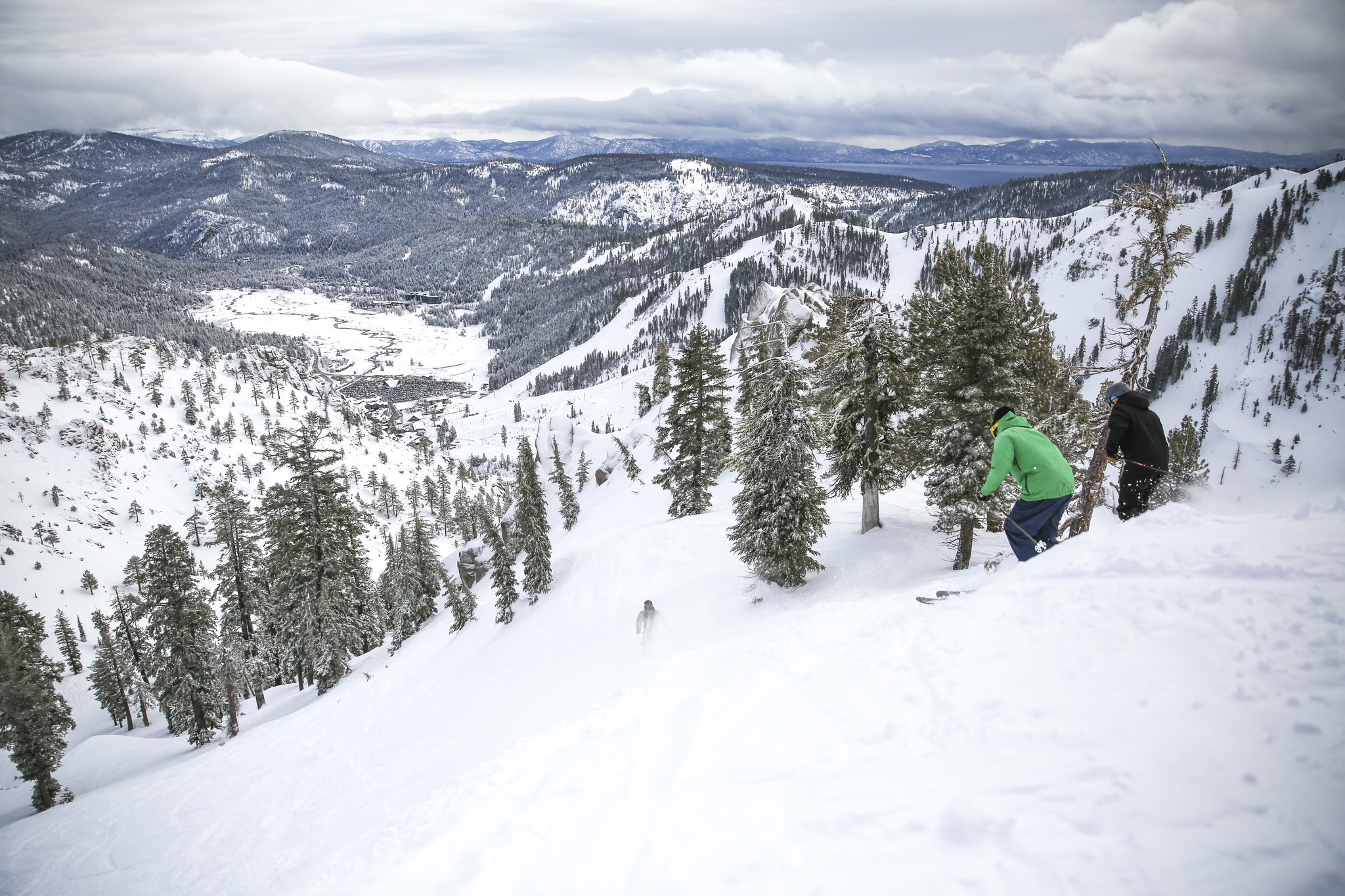 with snow piling up in the sierra what will it take to end