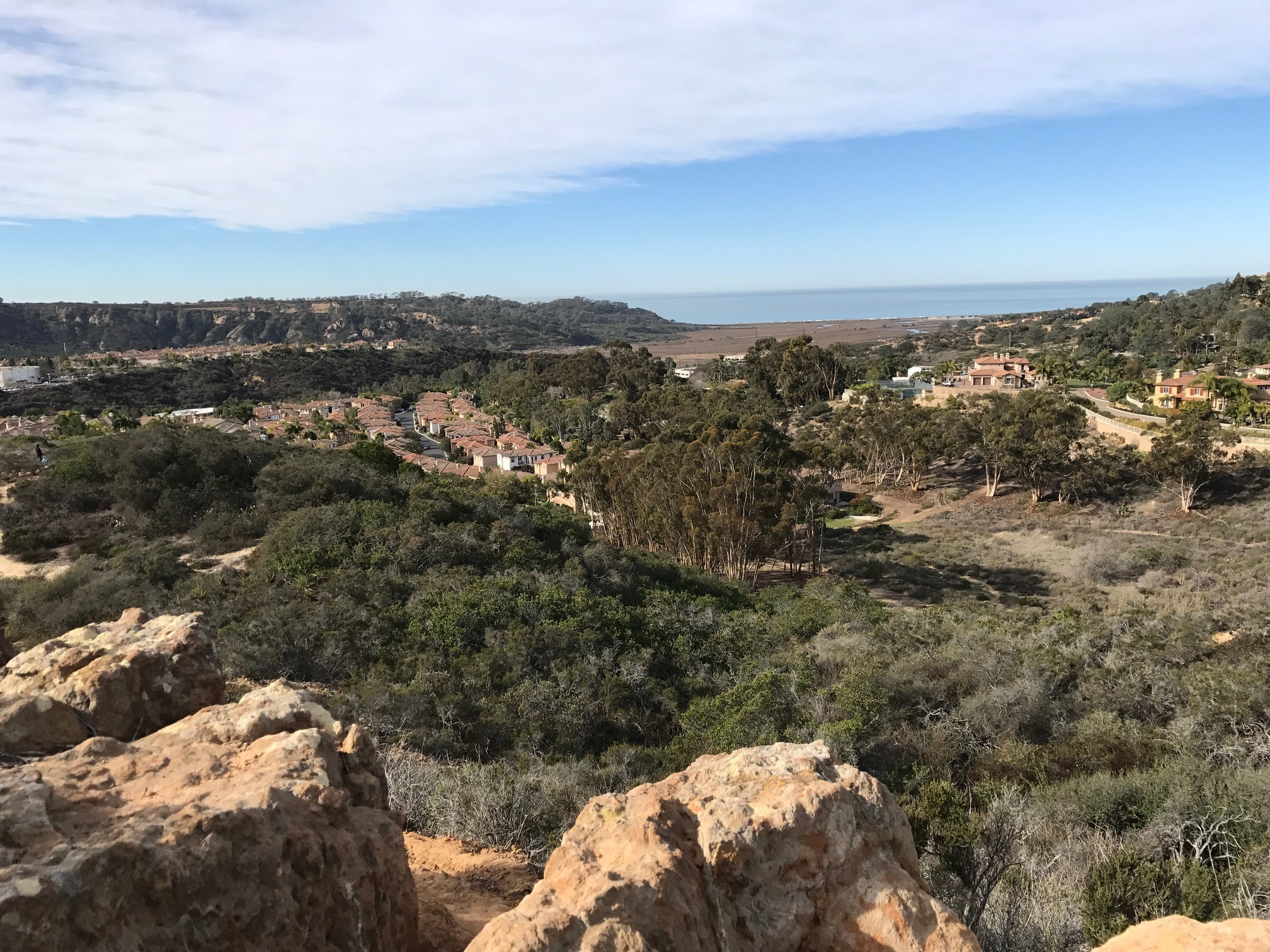 A view from atop the Carmel Mountain Preserve.