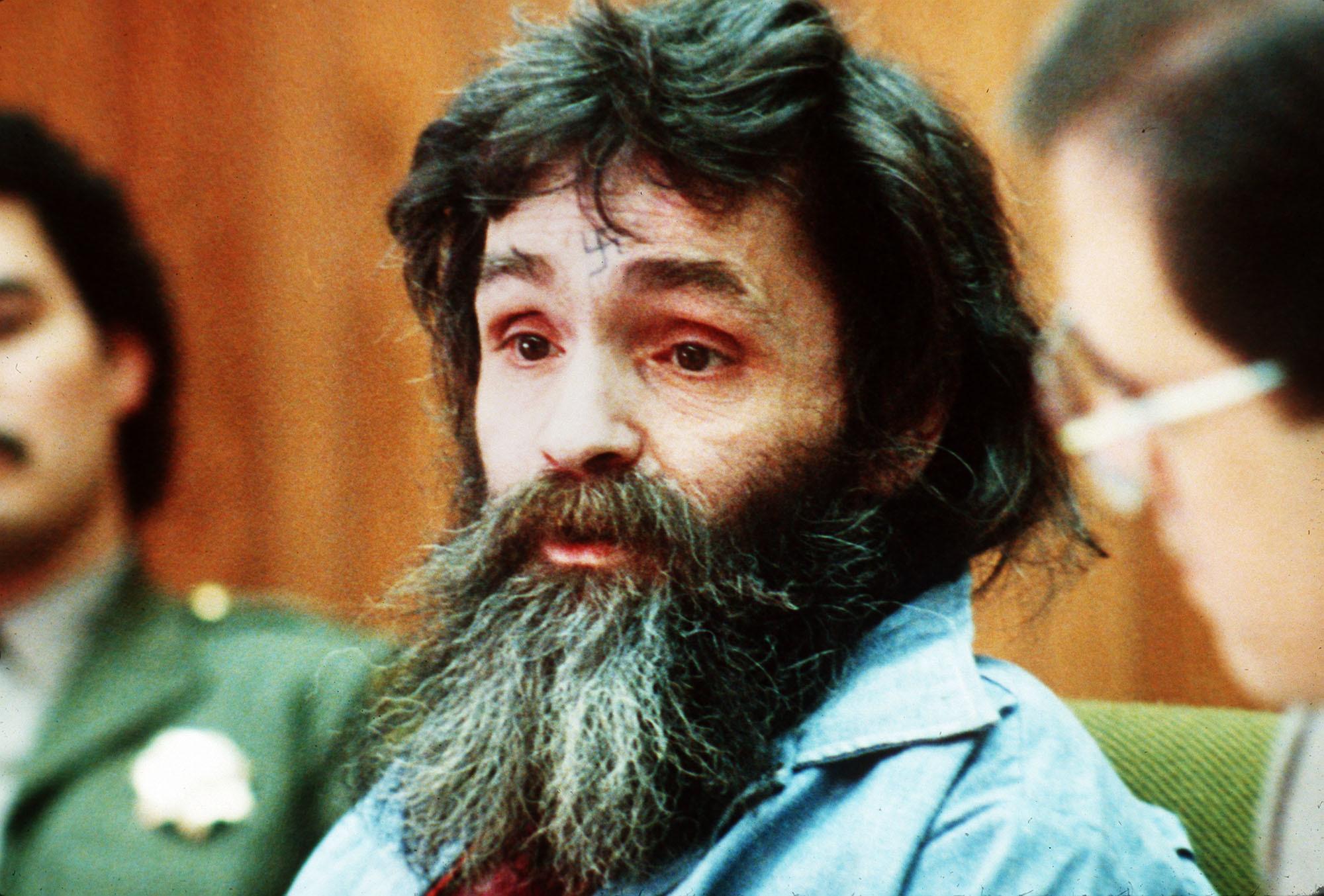 Image result for charles manson beard