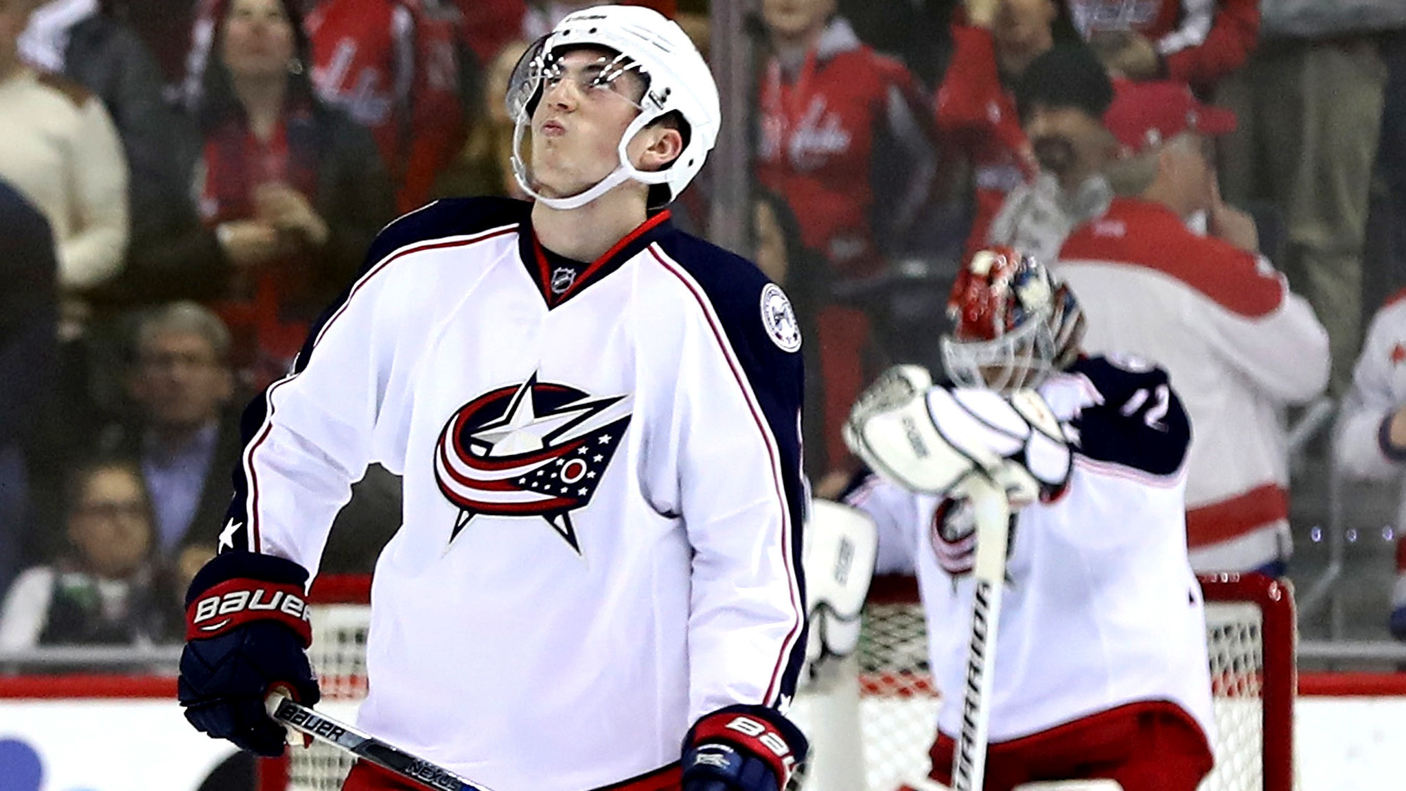 Blue Jackets' attempt to tie NHL record for consecutive wins ends ...