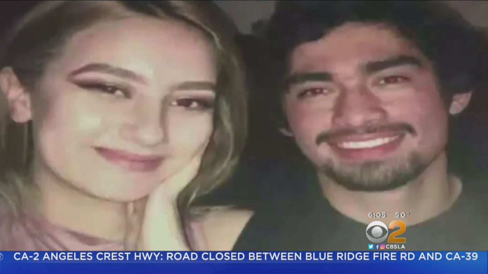 Search resumes for missing L.A. man after wrecked car and girlfriend's body found off PCH
