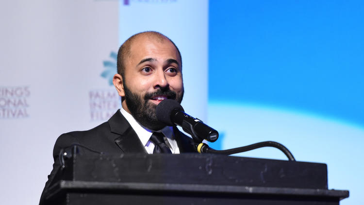 """Director Ritesh Batra at the opening-night screening of """"The Sense of an Ending"""" at the 28th annual Palm Springs International Film Festival Film."""