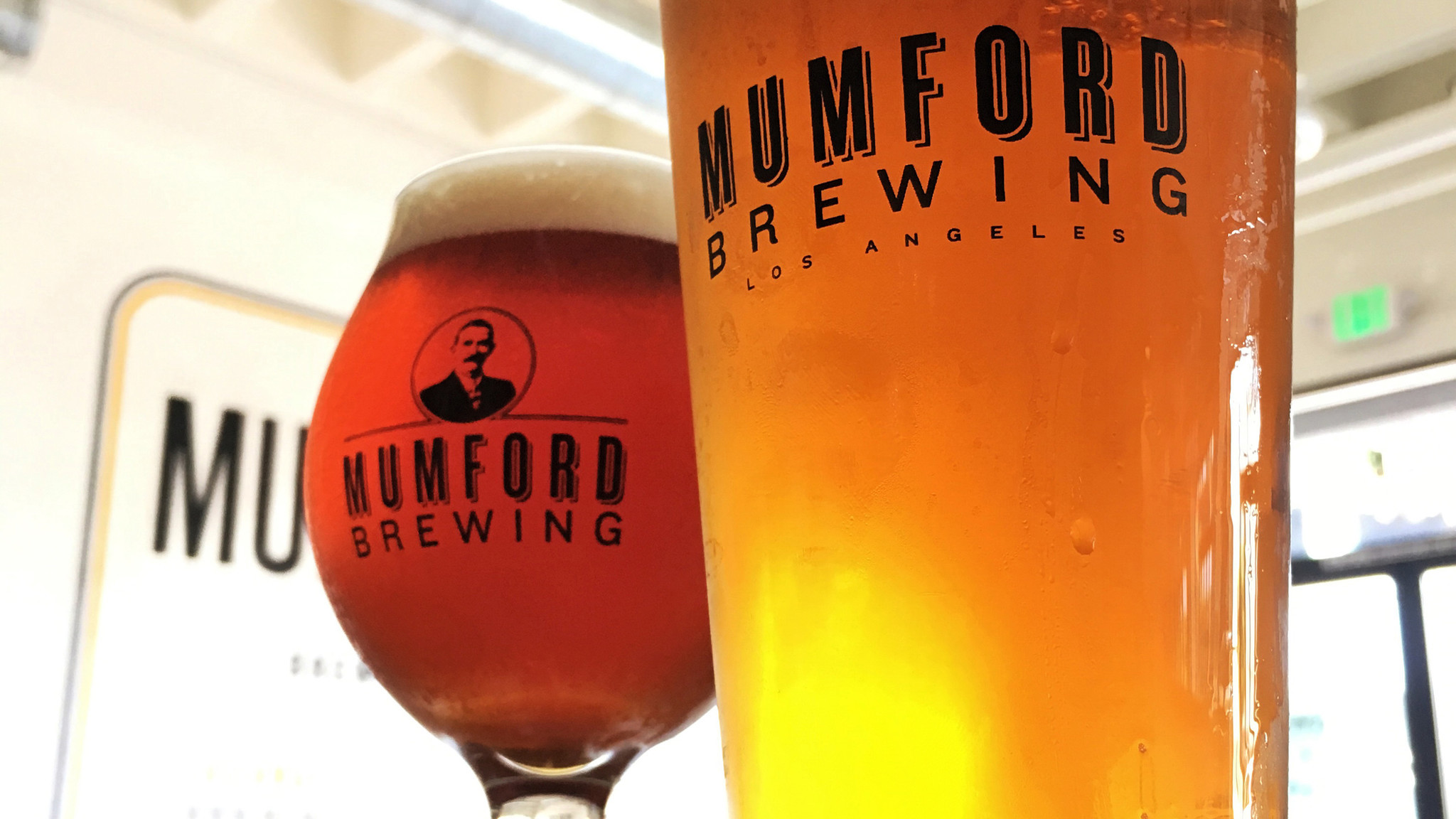 Mumford Brewing, half a mile west of the Arts District in downtown Los Angeles