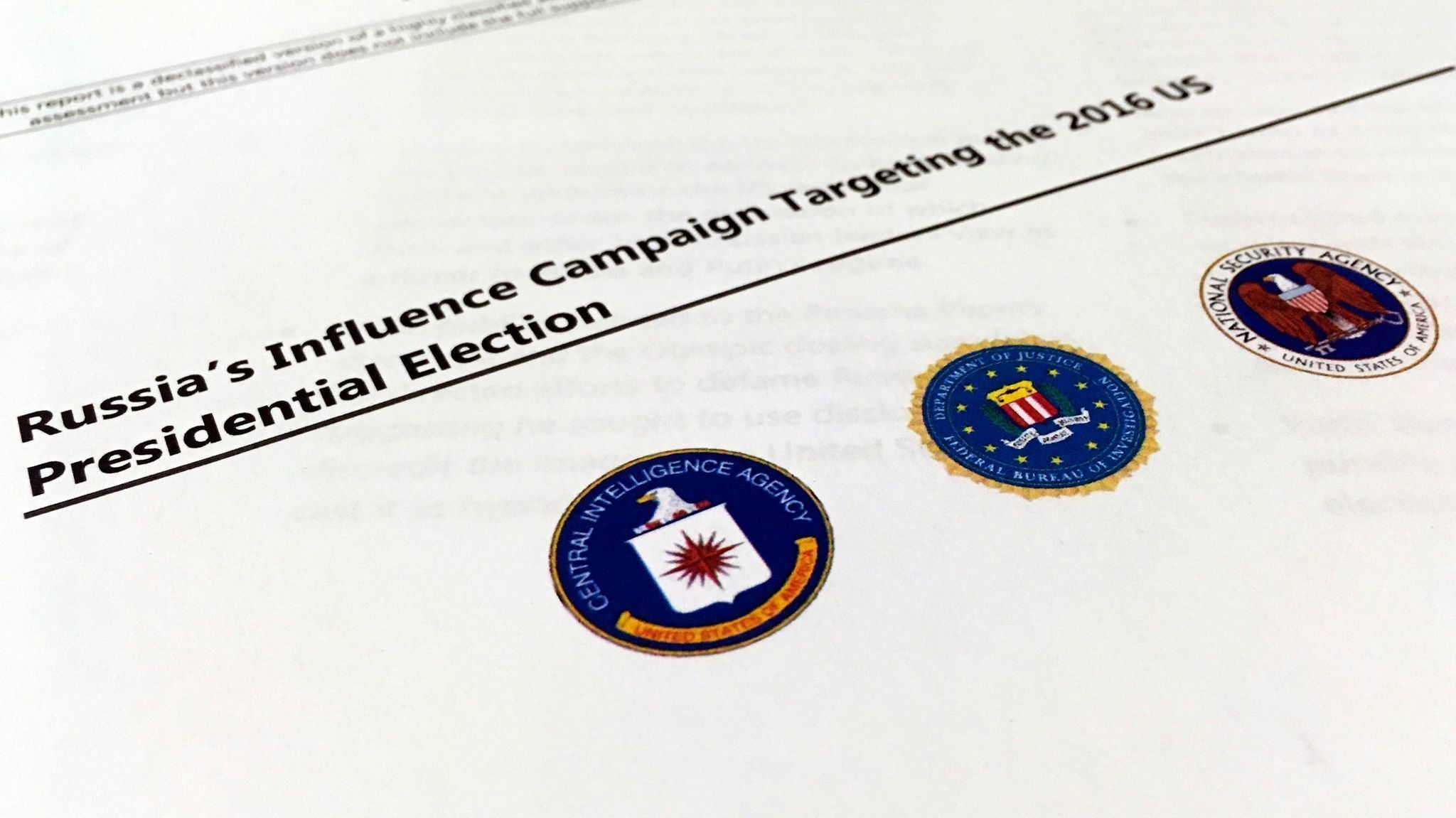 U.S. intelligence report doesn't say whether Russian hacking helped elect Donald Trump
