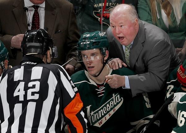 Coach Bruce Boudreau Makes Return To Anaheim With The Minnesota Wild