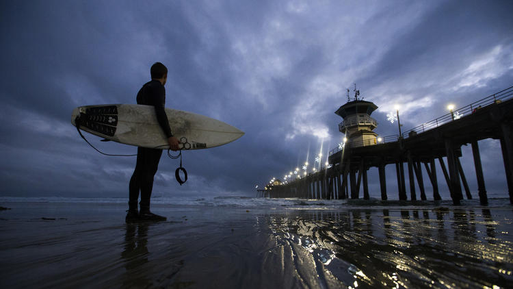 Storm system moves into Northern California
