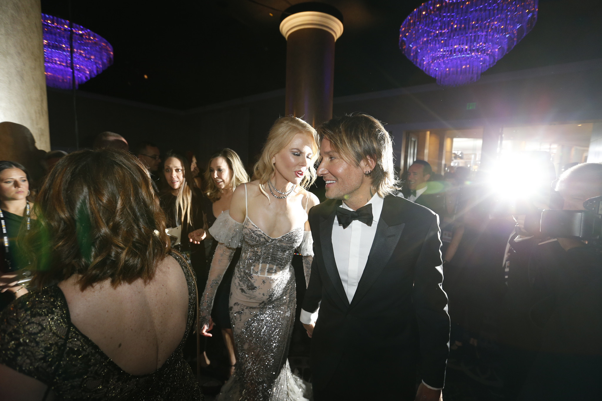 Keith Urban and Nicole Kidman None