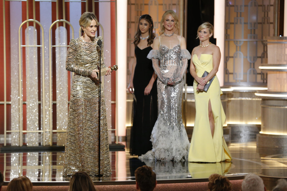 Sarah Paulson Wins Actress In A Limited Series Or Motion Picture Made For Television Sun Sentinel