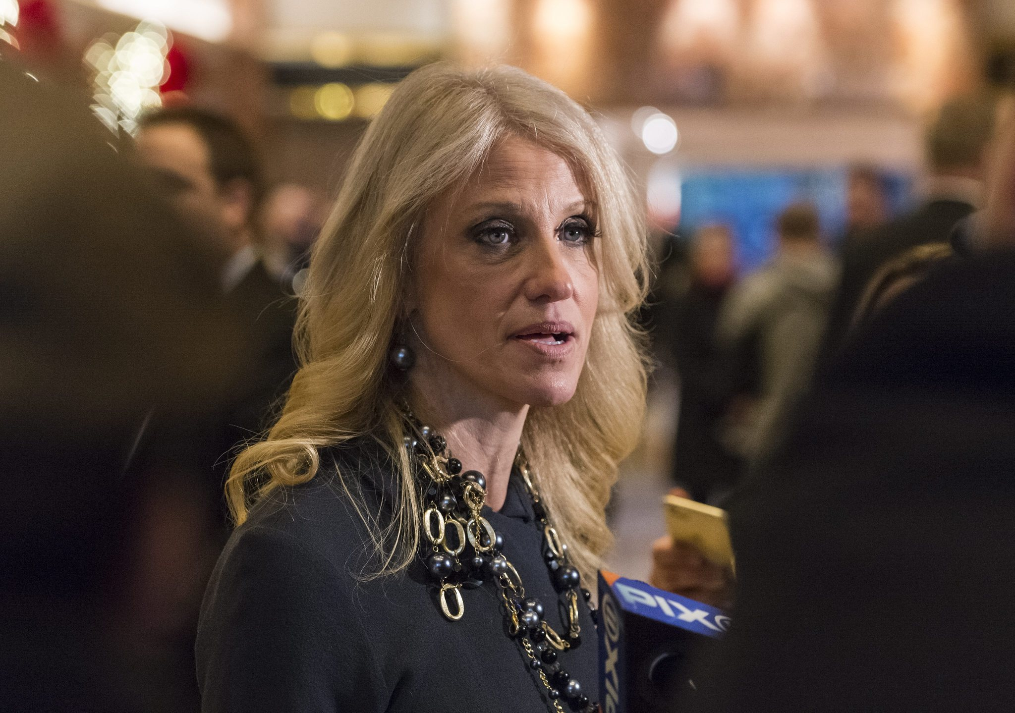 kellyanne conway s laughable defense of donald trump chicago tribune