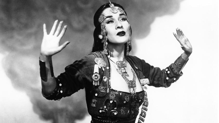L.A. singer Dorian Wood will pay tribute to Yma Sumac (seen above) in a special concert at the Hammer Museum.
