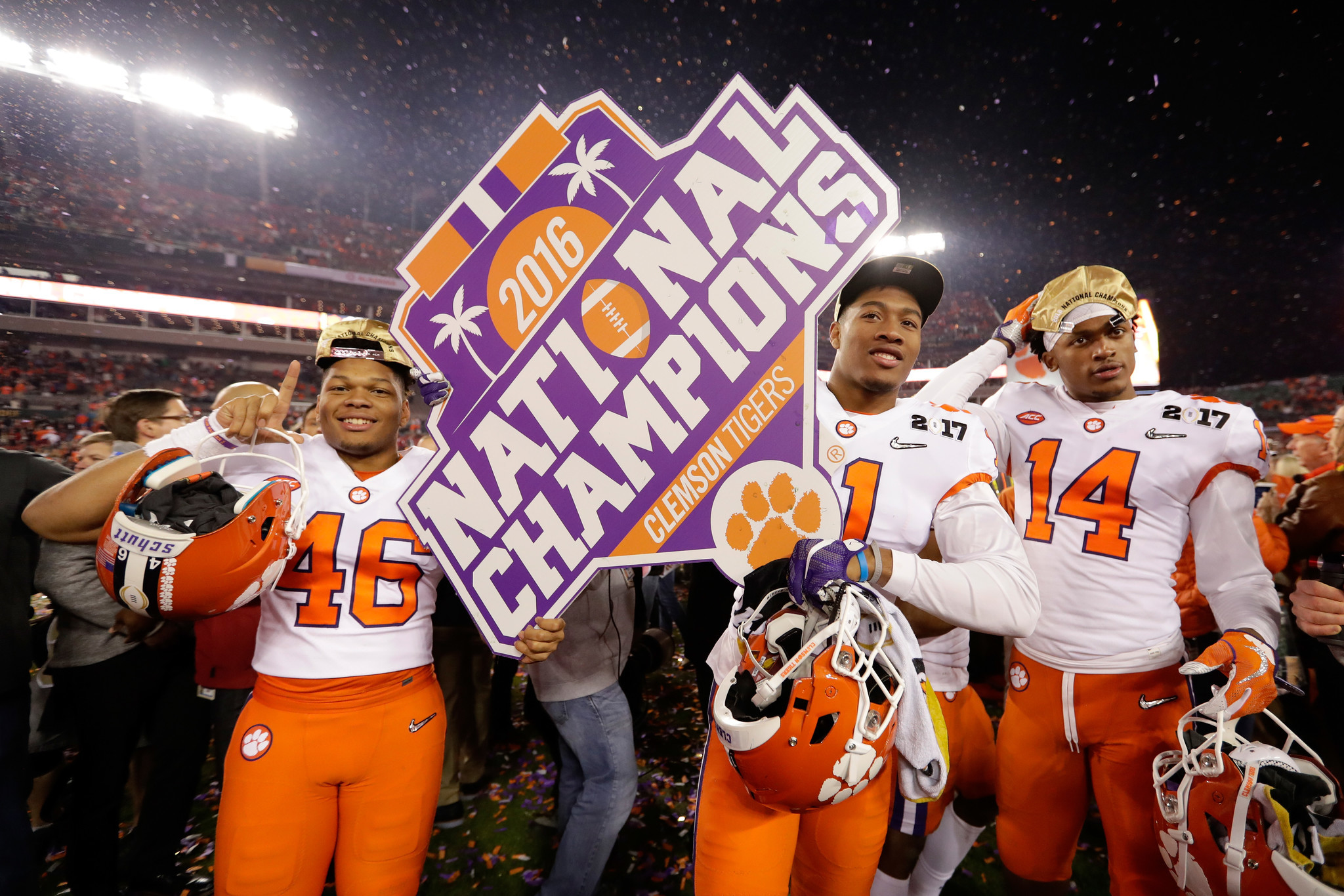 Clemson-Alabama rematch gets a place in the history of ...