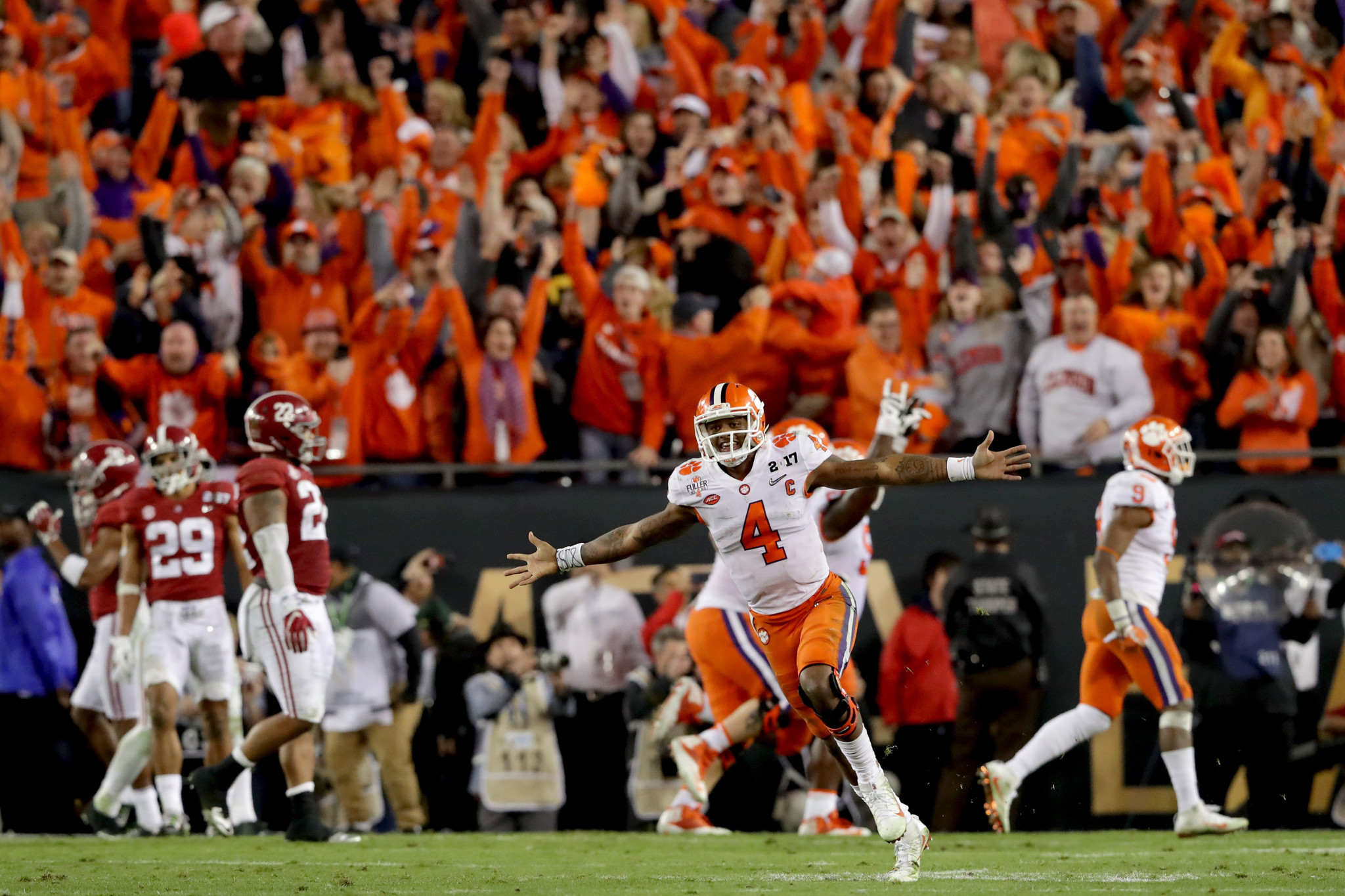 Kickoff time for national championship game - Clemson Alabama Rematch Gets A Place In The History Of Epic Games Chicago Tribune