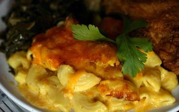 Aunt Kizzy's macaroni and cheese