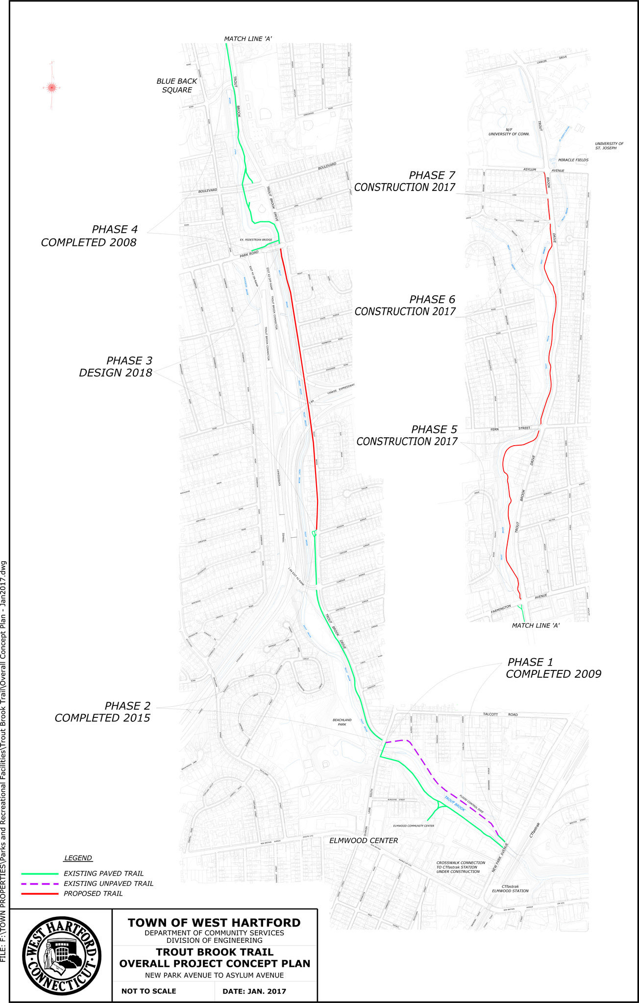 Trout Brook Trail Information Meeting Jan 17 In West Hartford