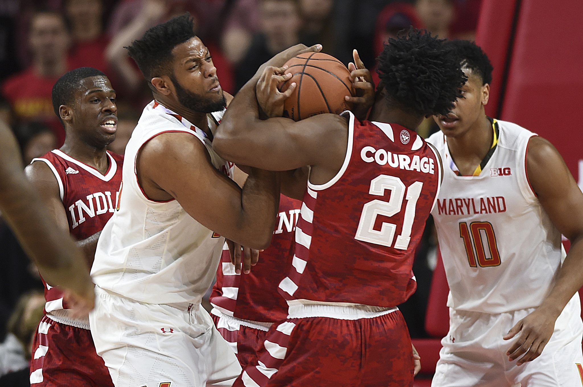 Maryland beats Indiana 75 72 in what felt like a Top 25 game