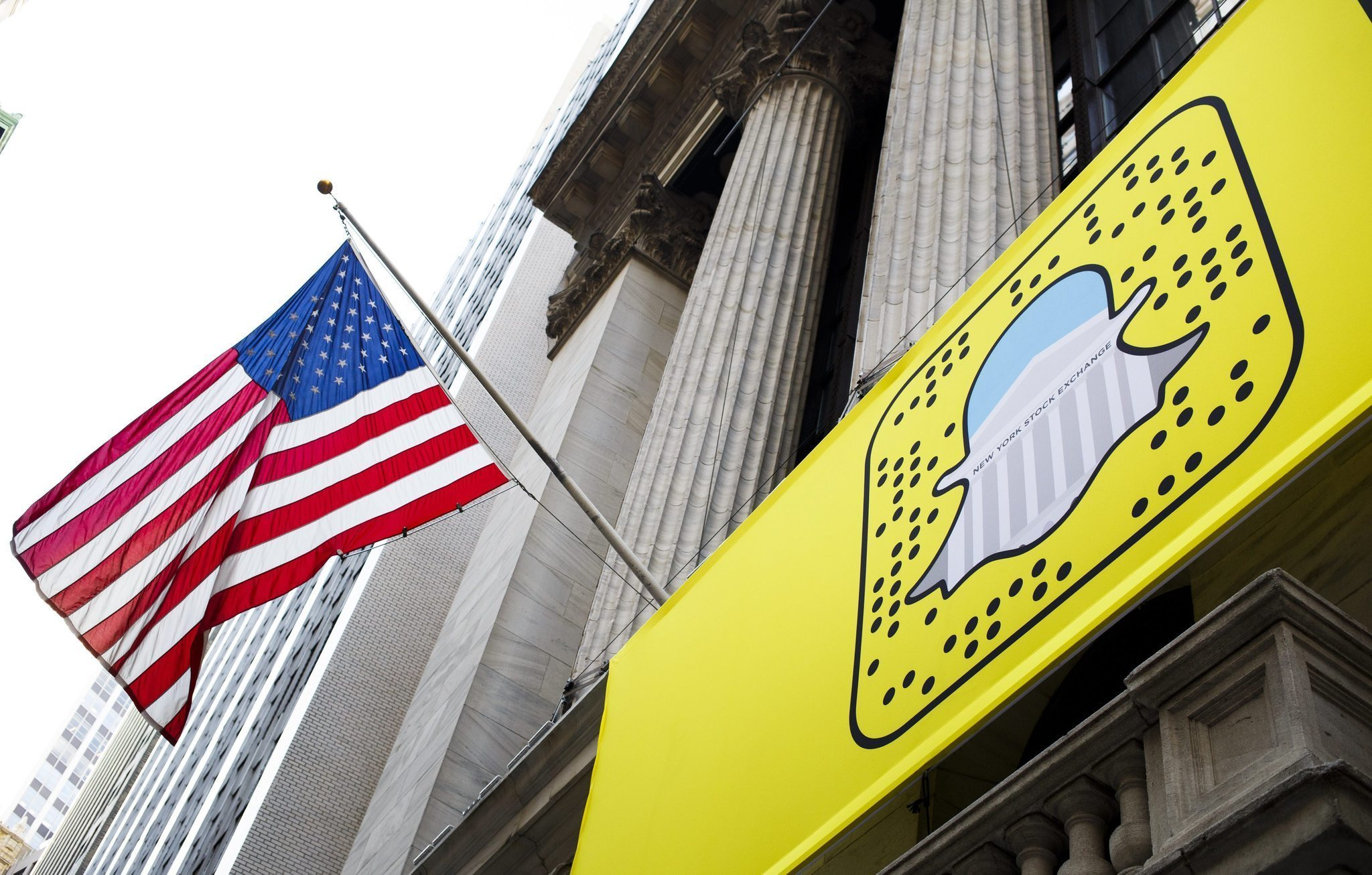 Snapchat company's share price soars on debut