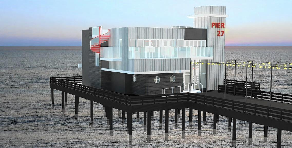 Newport to seek state ok for new pier restaurant daily pilot for Dining in newport tn