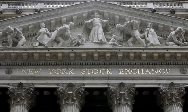 Stocks edge mostly higher; drug firms drop after Trump comments