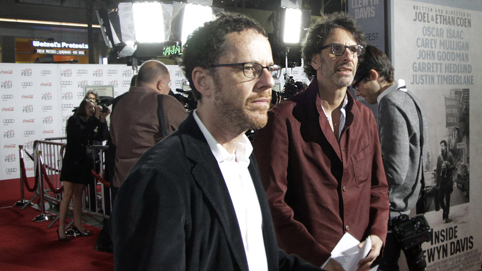 Filmmakers Joel, left, and Ethan Coen (Lawrence K. Ho / Los Angeles Times)
