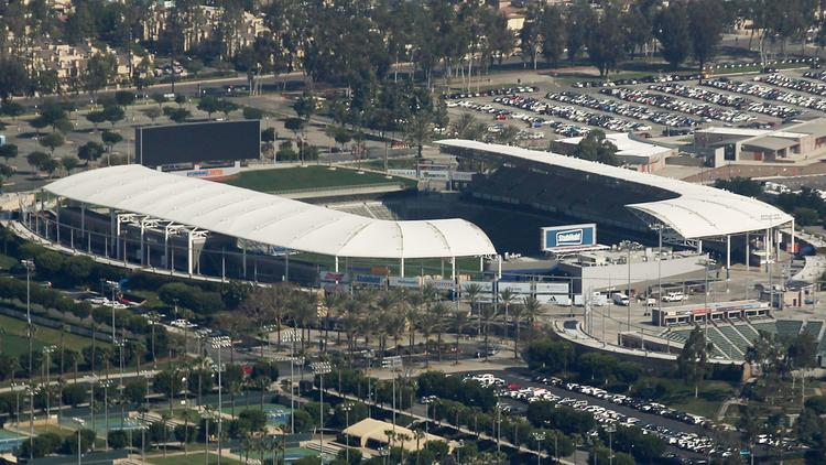 The Chargers will play at StubHub Center in Carson until the stadium they will share with the Rams in Inglewood is built. (Luis Sinco / Los Angeles Times)