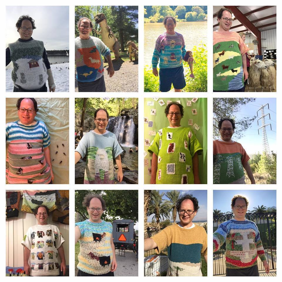 Pikesville knitter goes viral for destination-themed sweaters ...