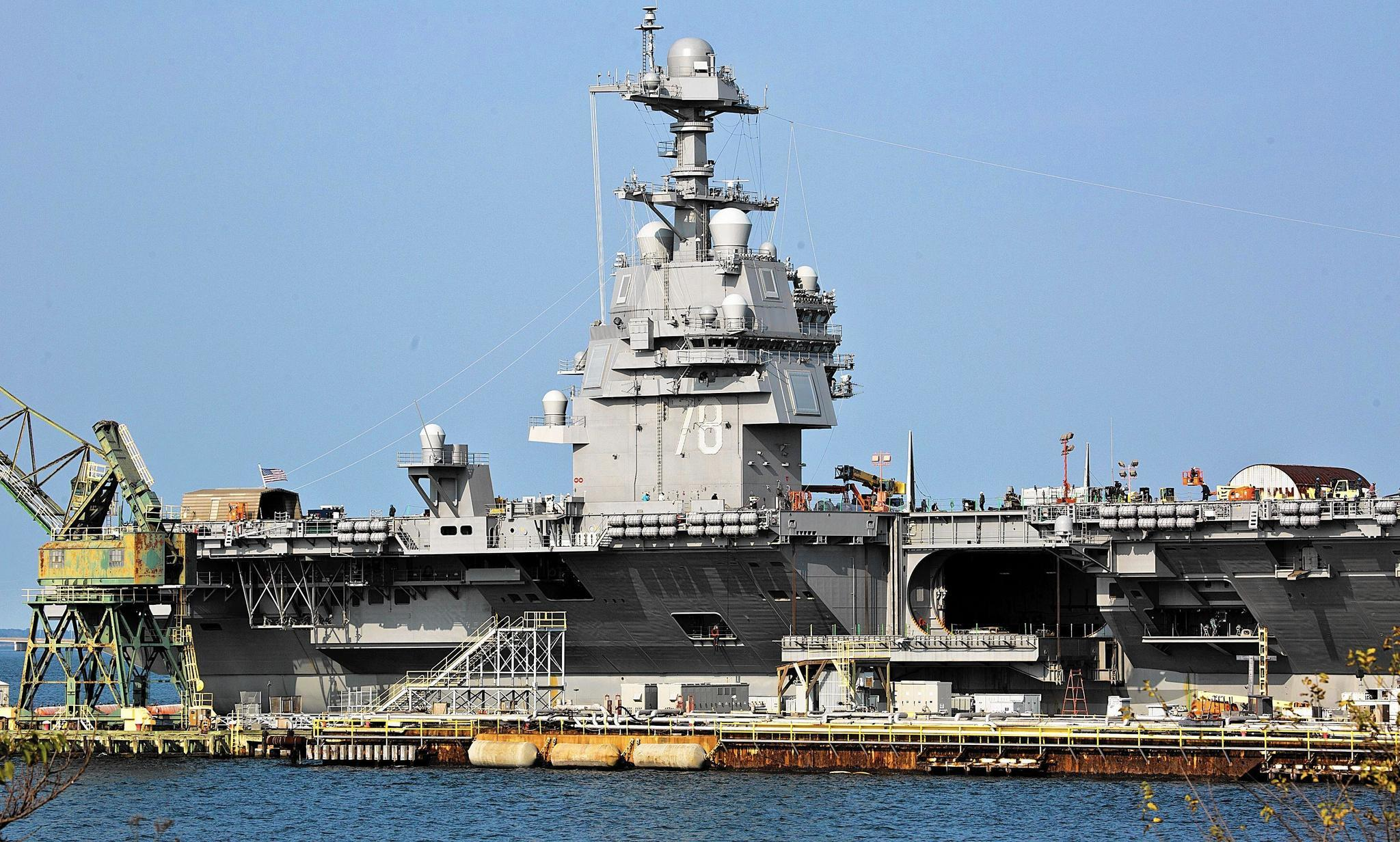 Navy aircraft carrier Gerald R. Ford could be delivered in April (dailypress.com)