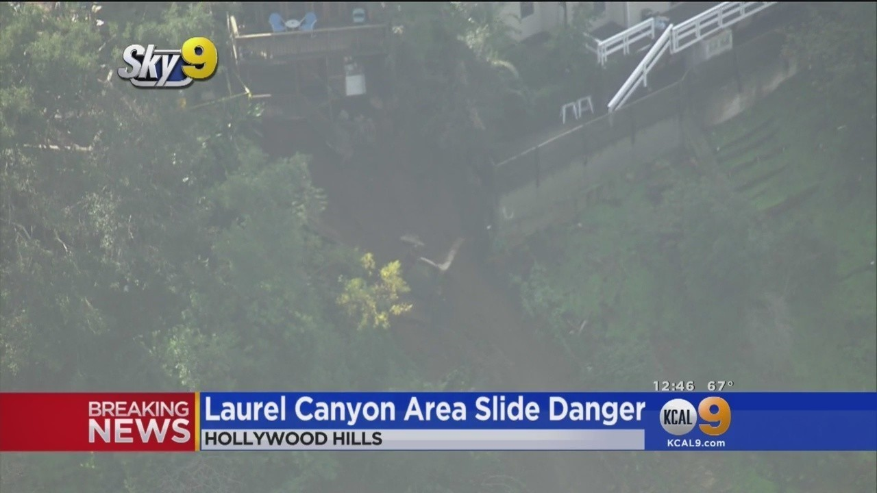 Rush hour nightmare: Hollywood Hills balcony collapse shuts down Laurel Canyon Boulevard