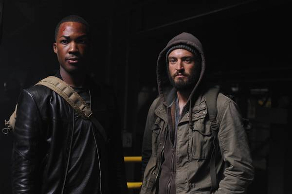 "Corey Hawkins and Charlie Hofheimer on ""24: Legacy."" (Ray Mickshaw / FOX)"