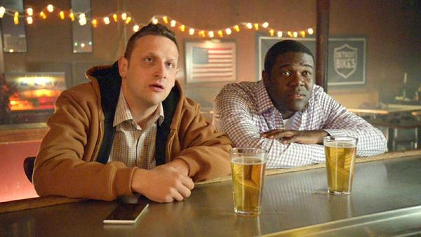 "Tim Robinson, left, and Sam Richardson in the Comedy Central series ""Detroiters."" (Comedy Central)"