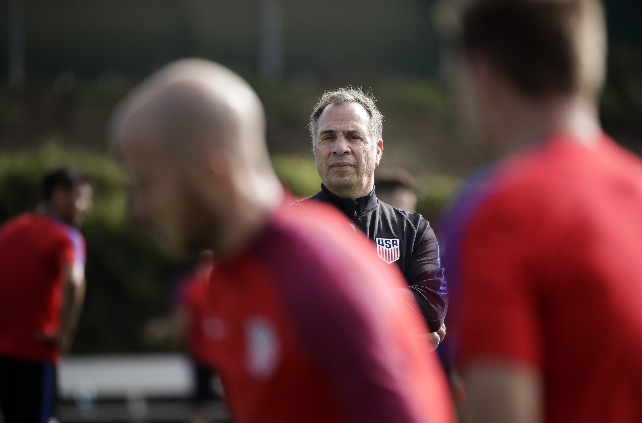 Bruce Arena gets U.S. national team soccer camp off to good start