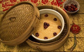 New Year's cake (nian gao)