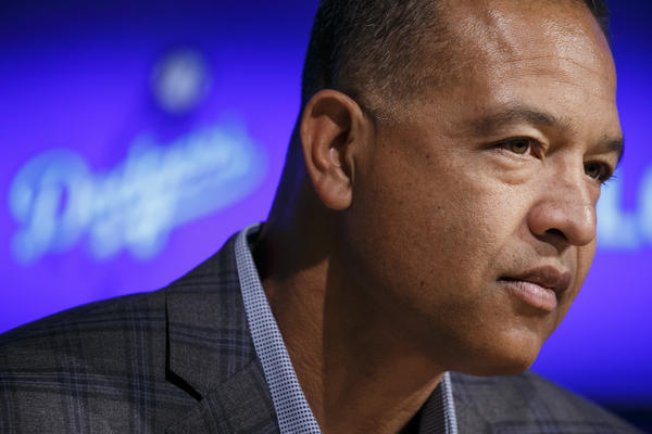 Dodgers Manager Dave Roberts (Marcus Yam / Los Angeles Times)