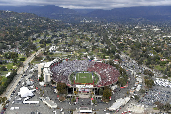 The Rose Bowl. (Associated Press)