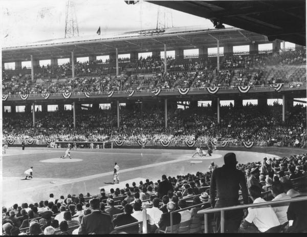 Los Angeles' Wrigley Field, shown here in 1961. (Los Angeles Times)