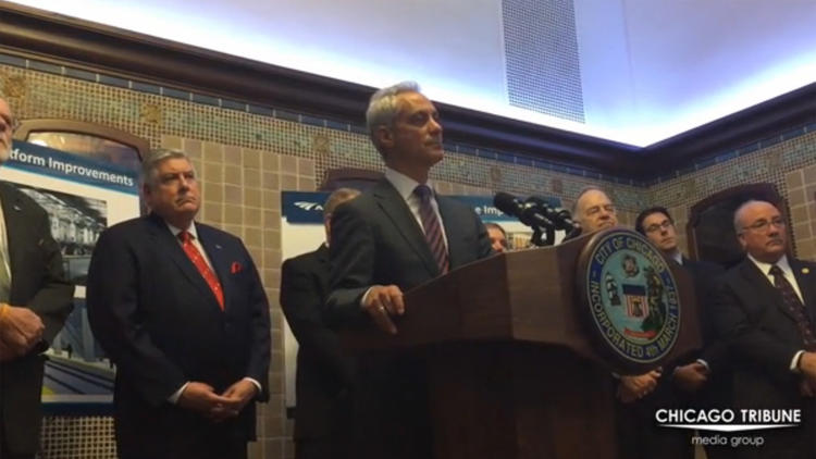 Emanuel on Justice Department report on Chicago police