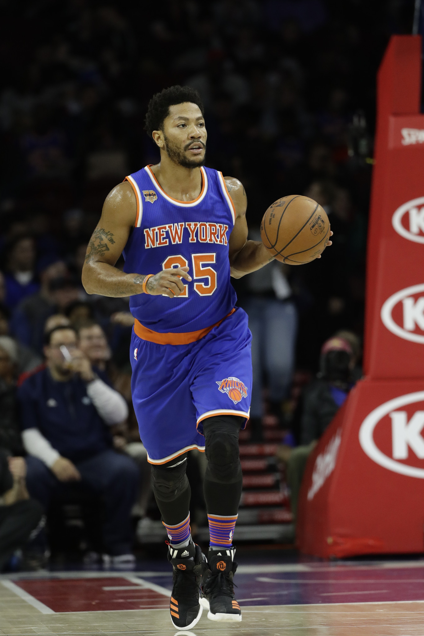 with support from teammates and ex teammates derrick rose in better
