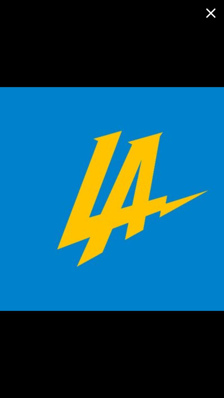 Bolts Add Powder Blue Gold To L A Logo The San Diego