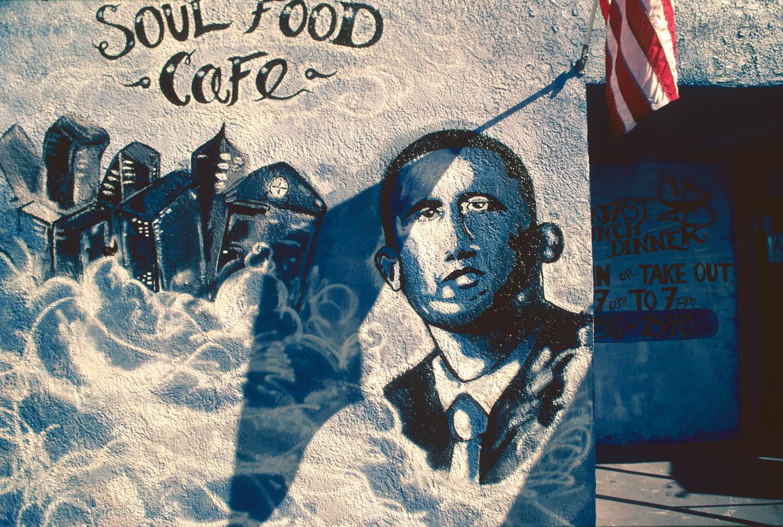 Cheers Soul Food, 7414 S. Main Street, LA, 2010