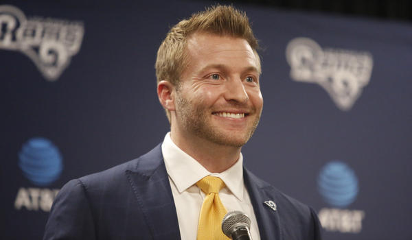 New Rams Coach Sean McVay says he's been ready 'my whole ...