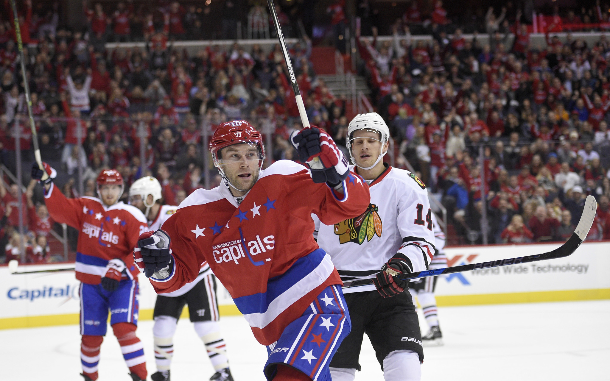 Blackhawks fall 6-0 to Capitals in their most lopsided loss since 2011