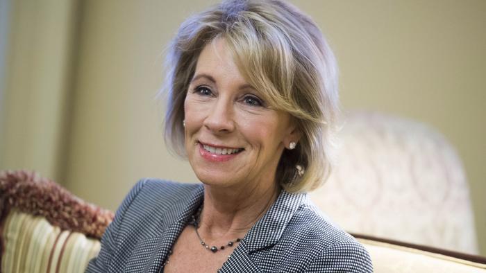 Education Secretary Besy DeVos (TNS)