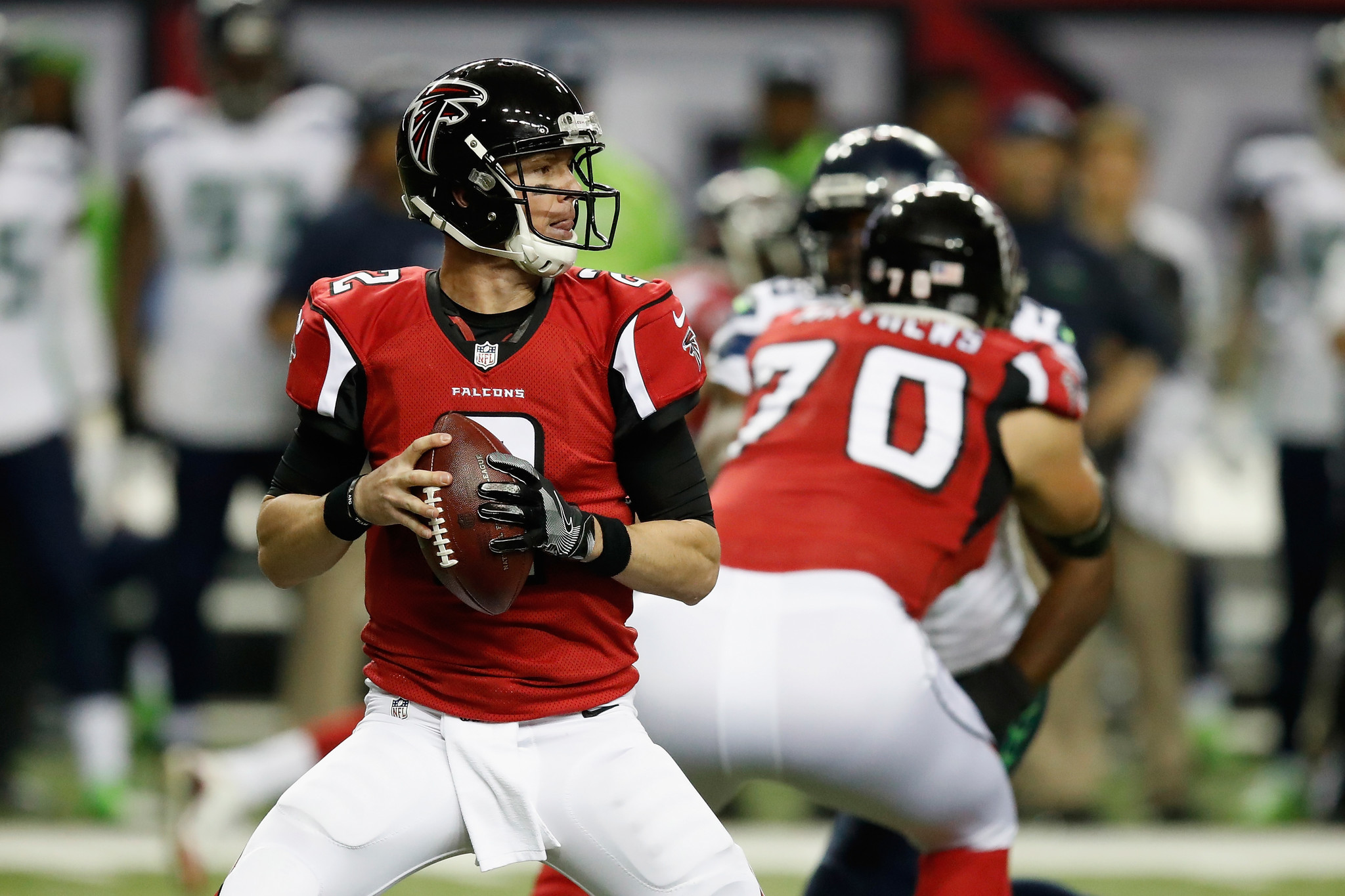 Matt Ryan leads Falcons to NFC title game beating Seahawks 36 20