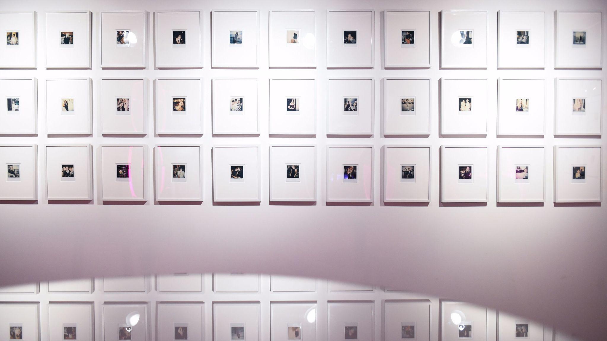 Polaroids by Derek Blasberg.